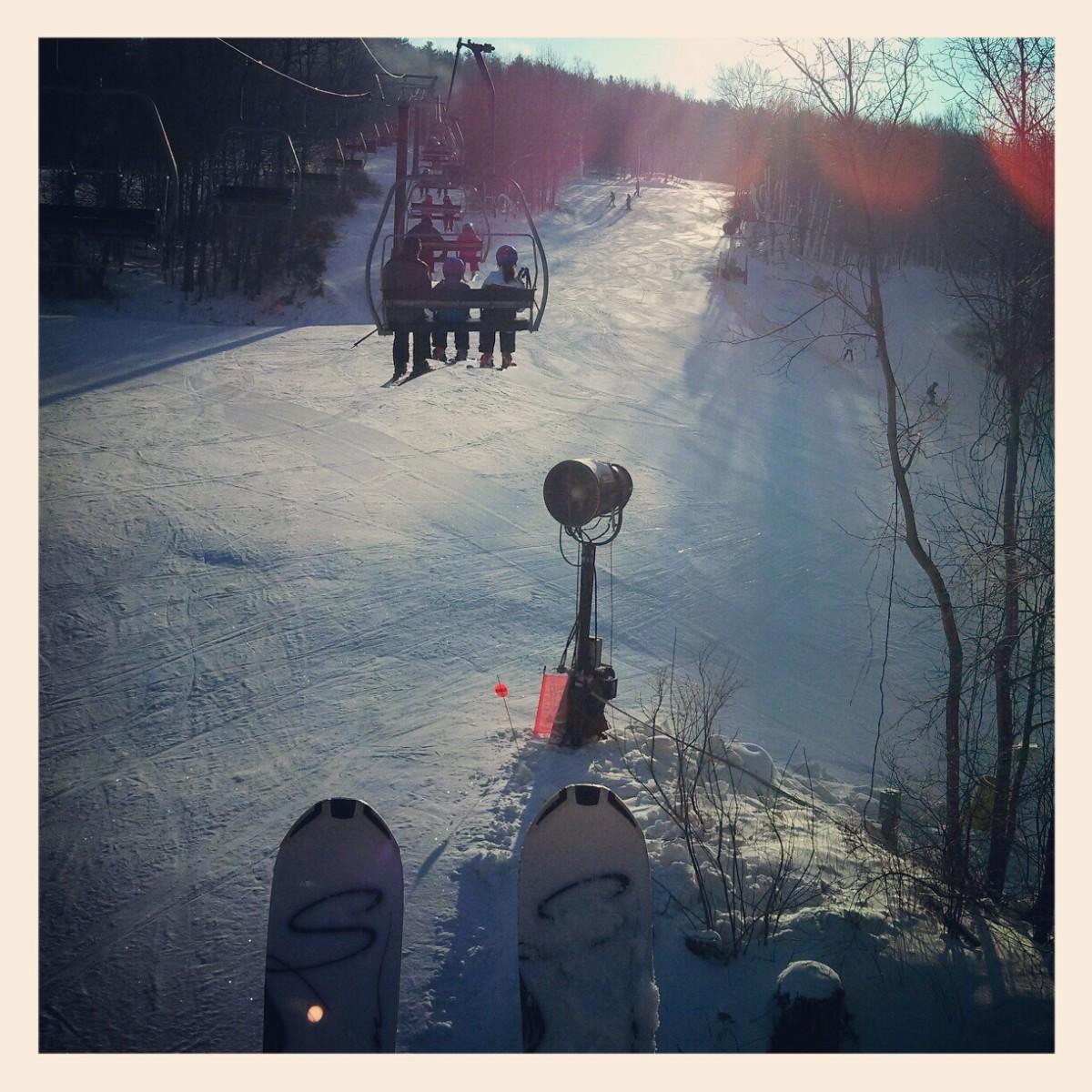 family ski fun