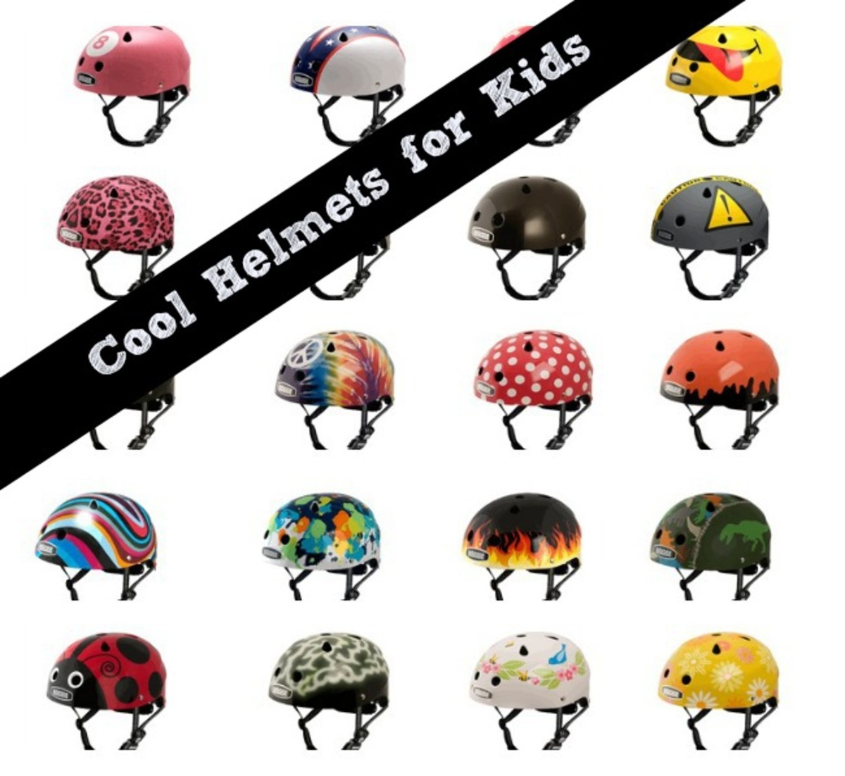 cool helmets for kids
