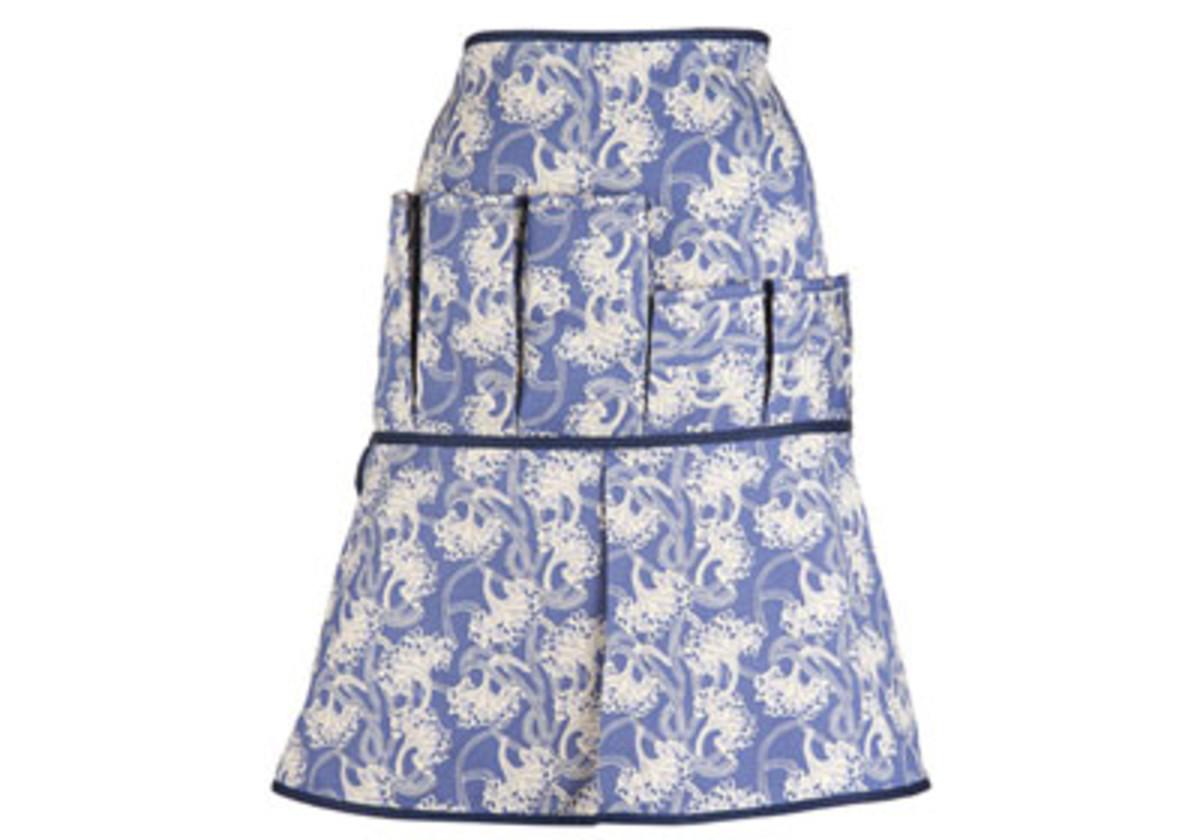 angelas garden waist apron