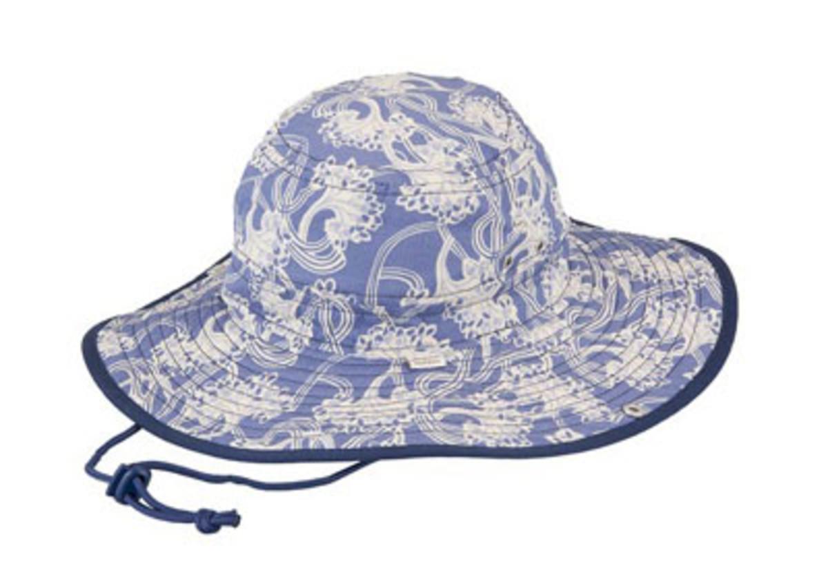 angelas garden brim hat