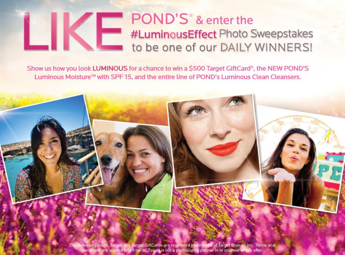 Pond's Facebook