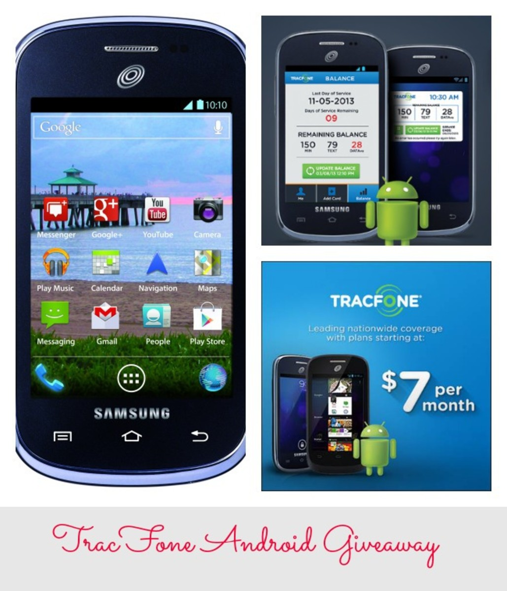 Giveaway: TracFone's Android Smartphone - MomTrends