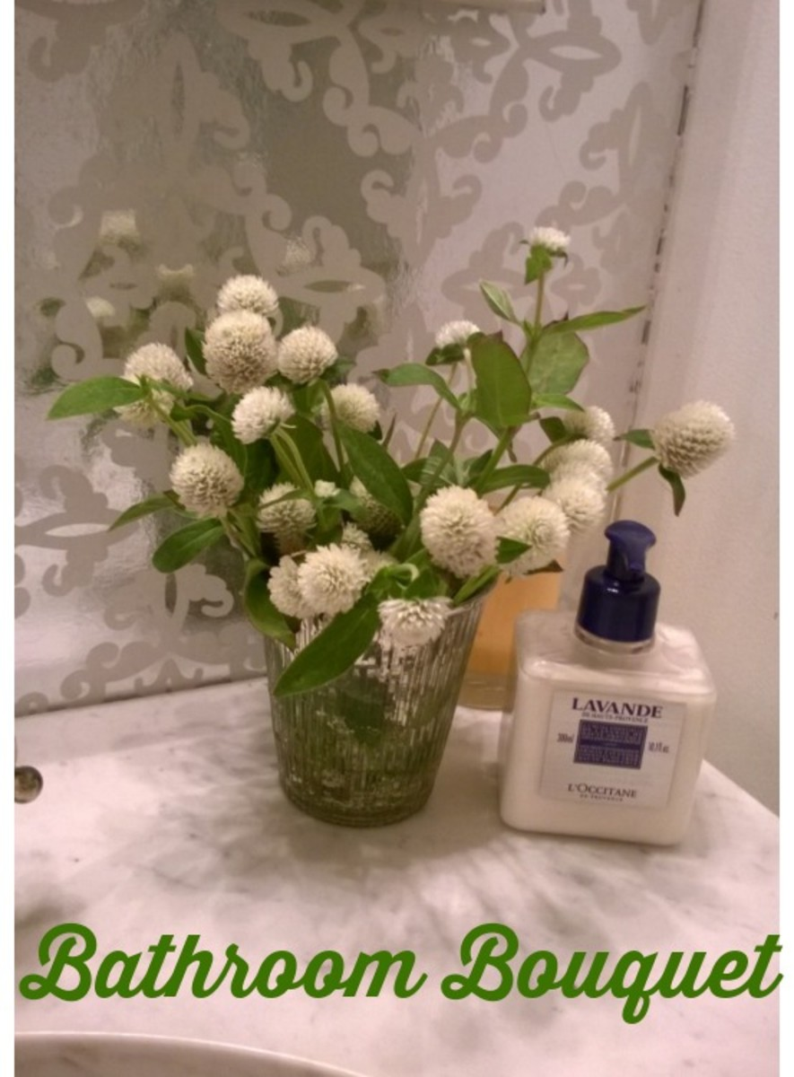 Bathroom Bouquet
