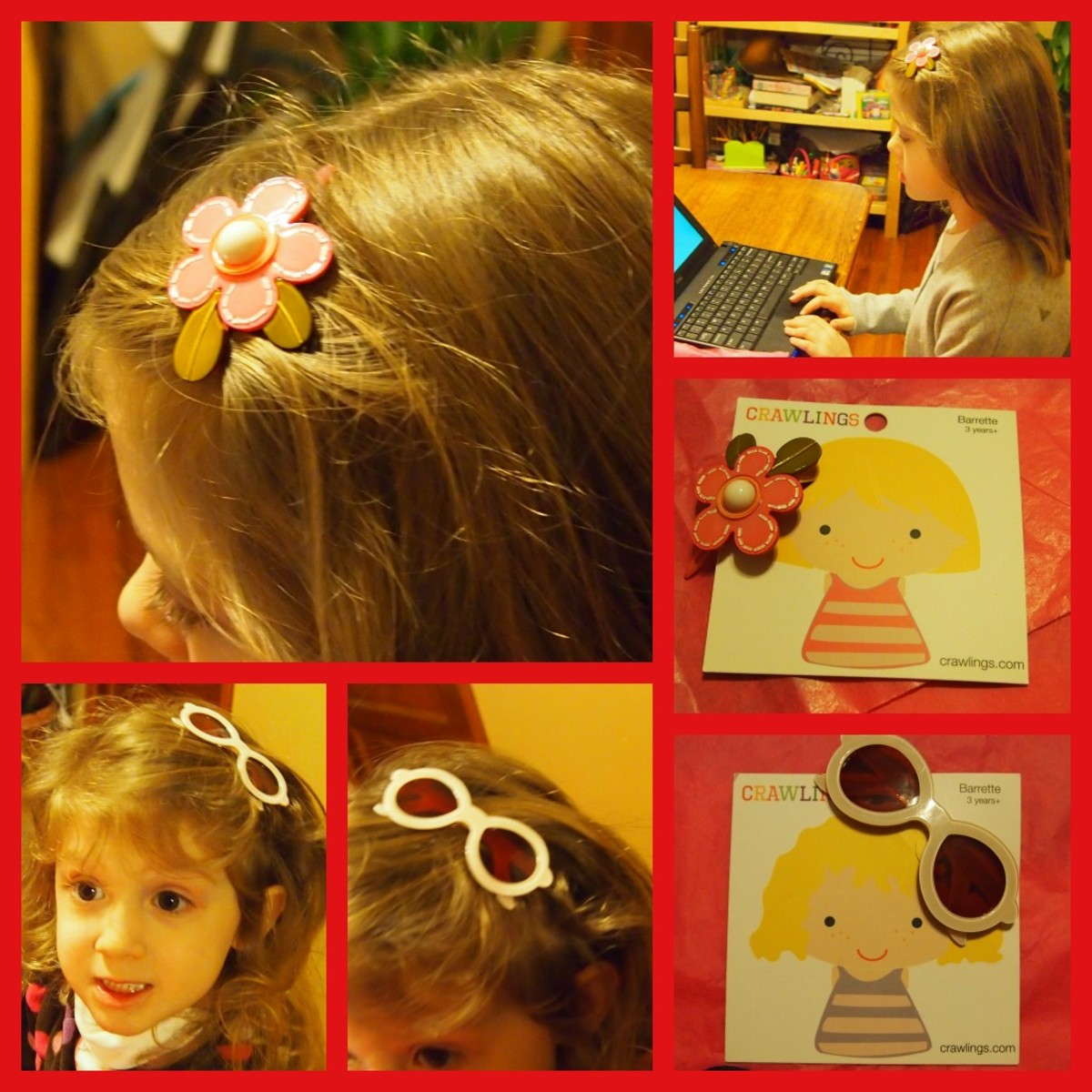crawlings hair accessories