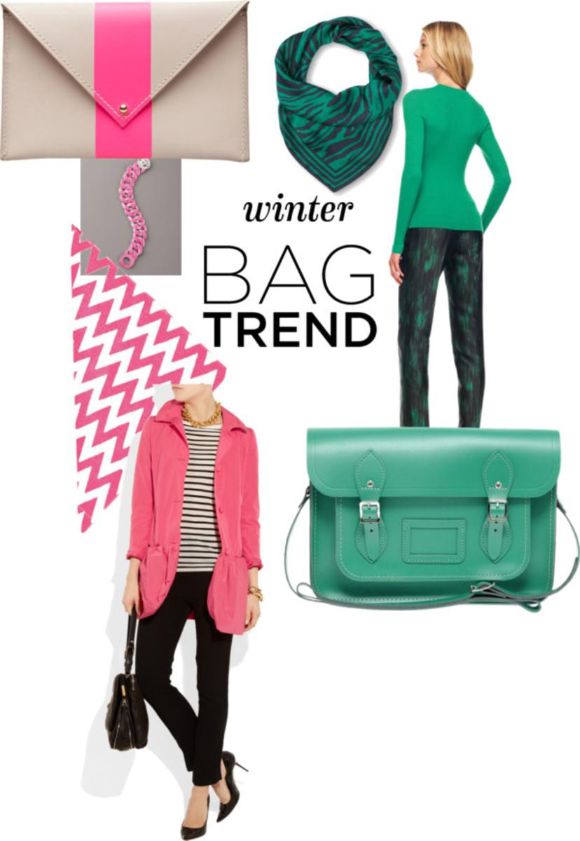 Winter Bag Trends: Go Bright