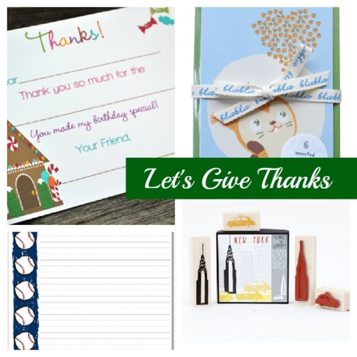 Top Thank You Notes For Kids