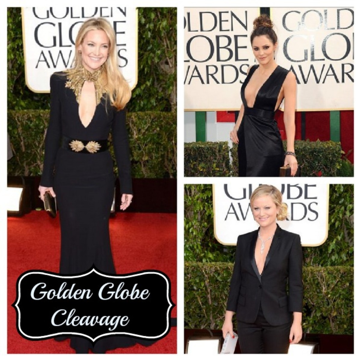 golden globe cleavage