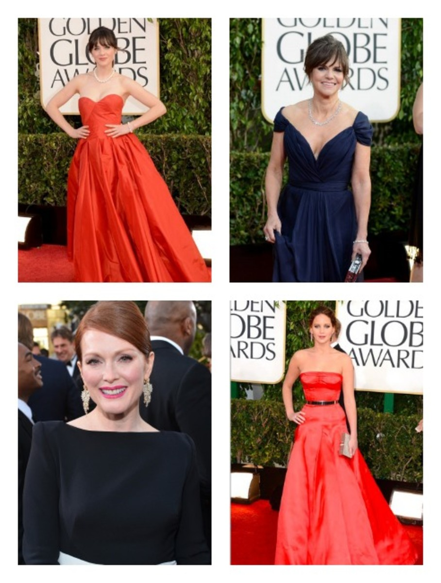 golden globe red carpet favorites