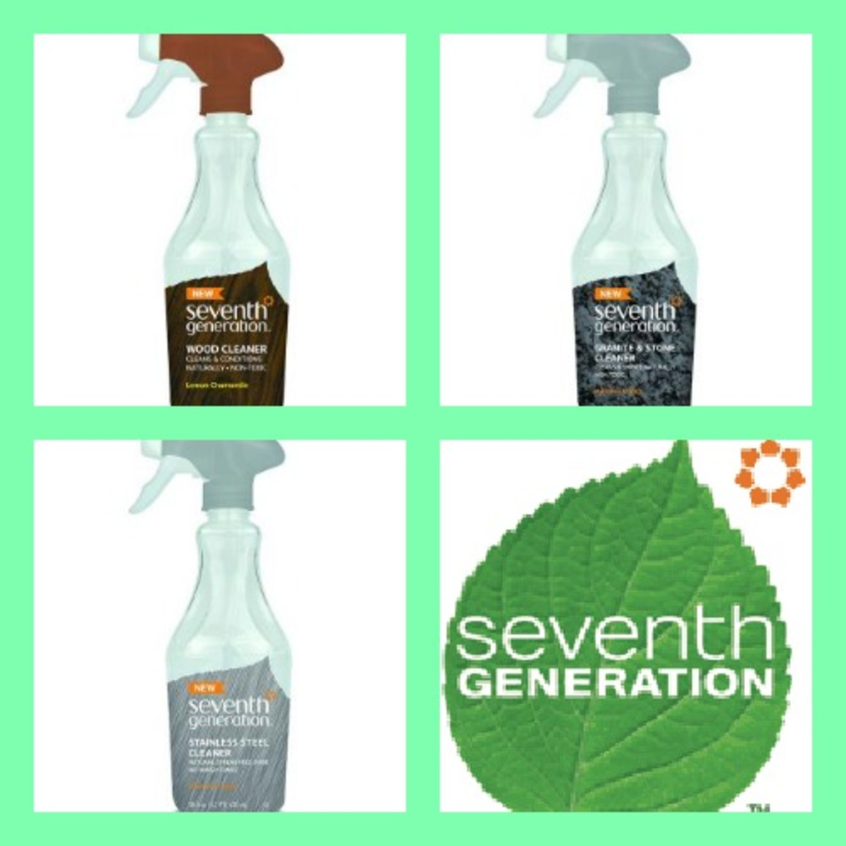 Seventh Generation line, products for home, cleaning, momtrends