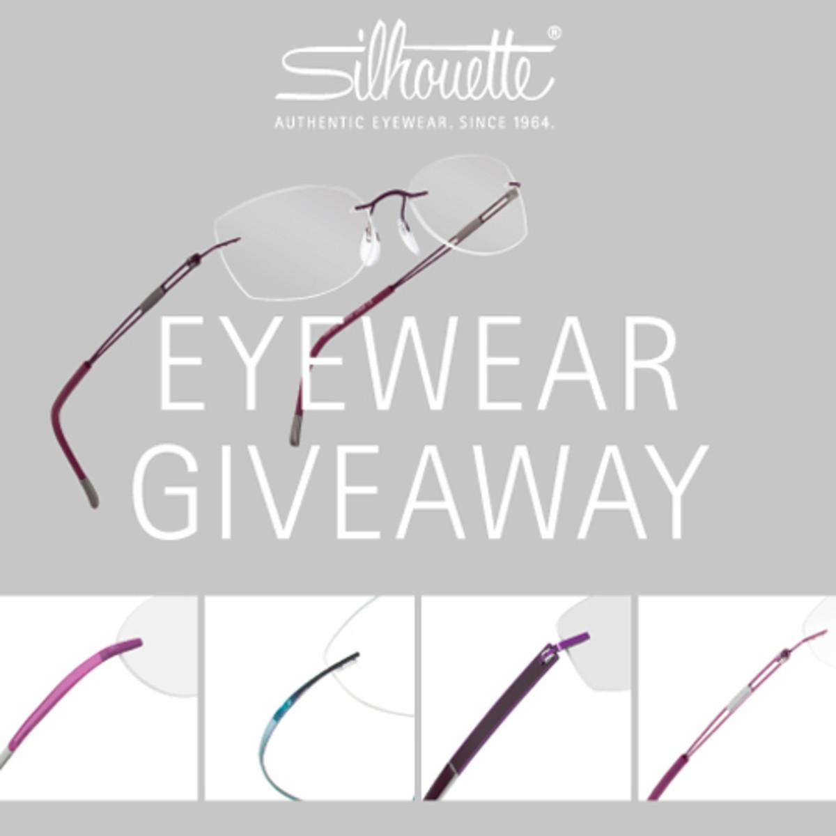 Silhouette Eyewear Giveaway