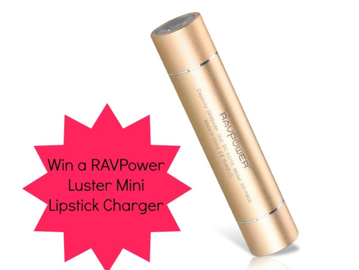 win a RAVPower Luster Mini charger
