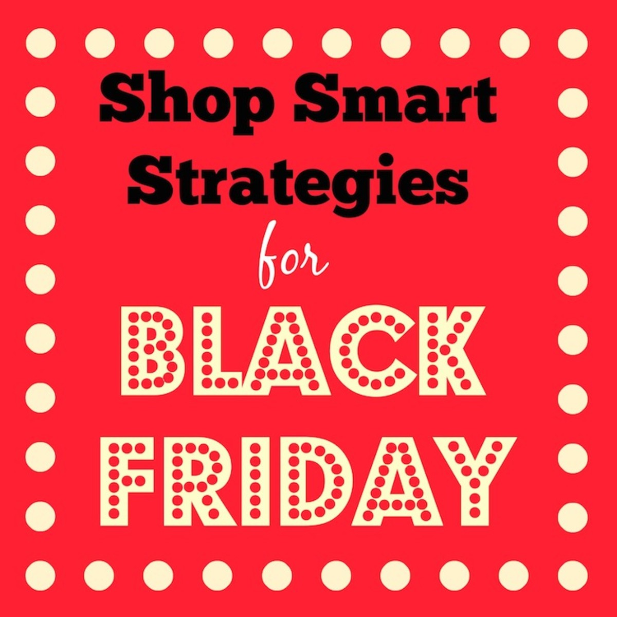shop smart on black friday