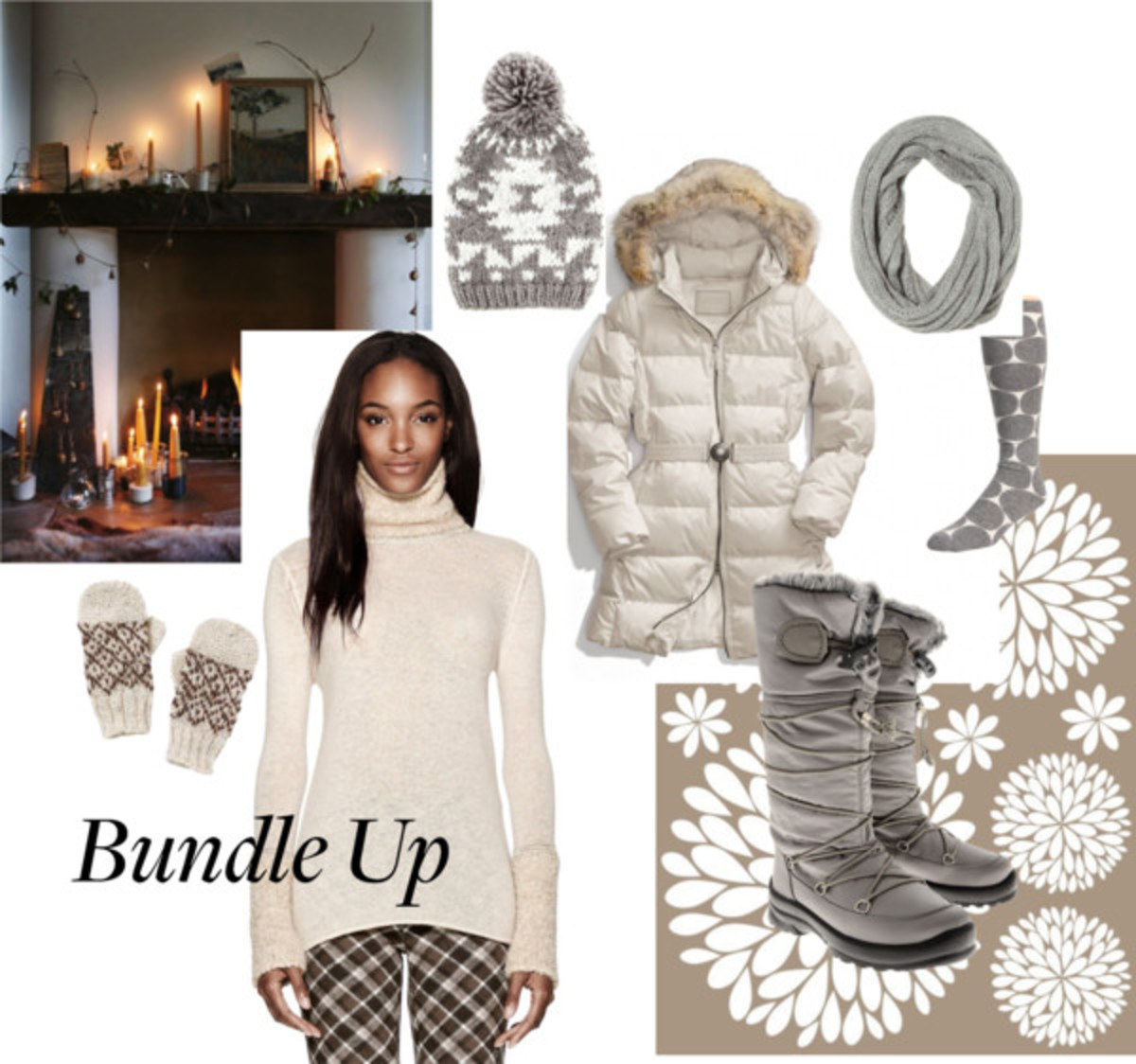 Bundle Up Fashion for a Snow Storm