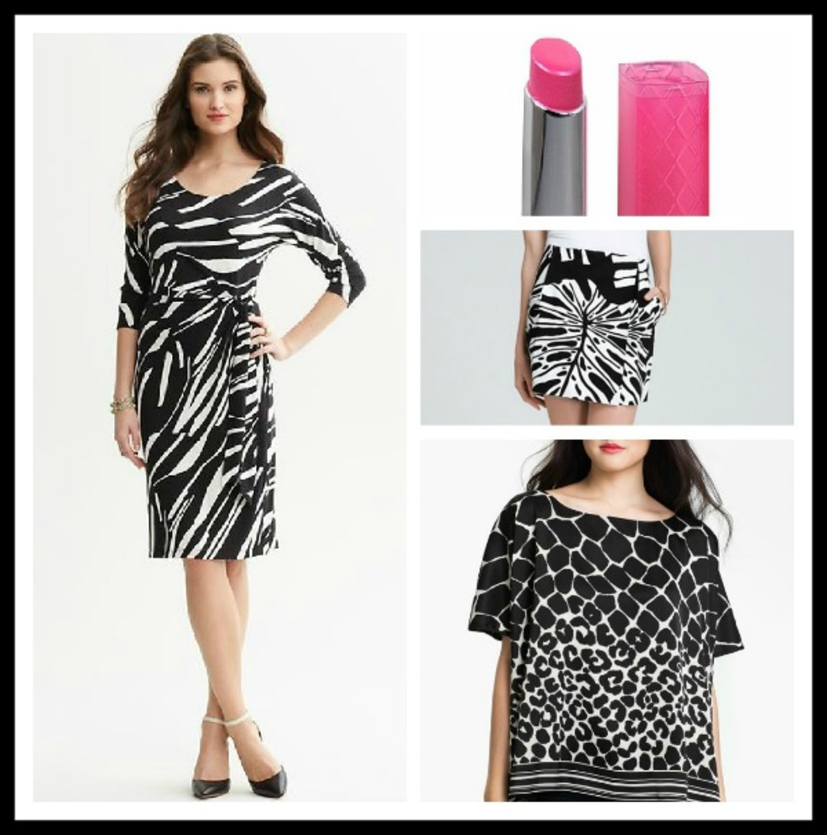 black and white, black and white prints, spring 2013 fashion trends