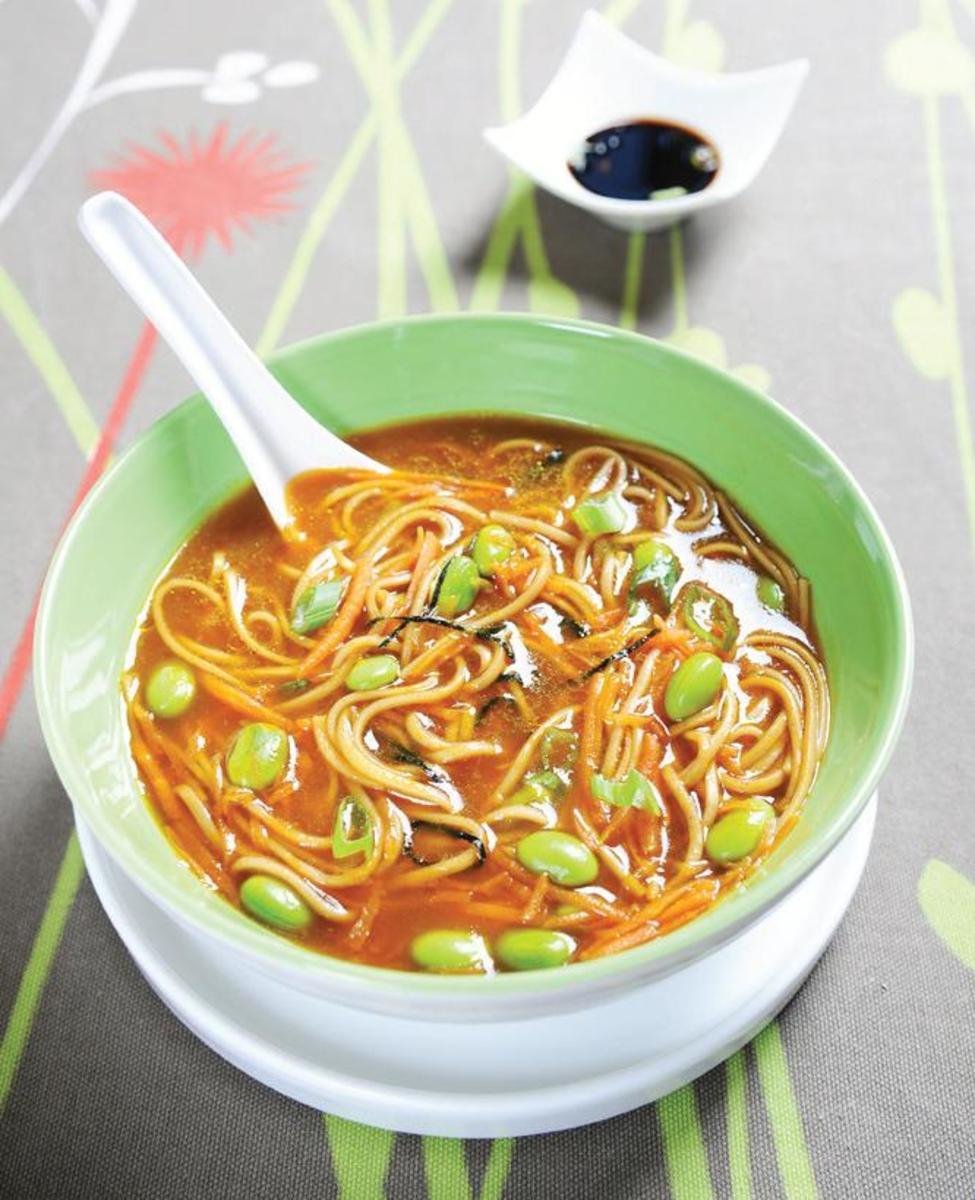 Buckwheat Noodle Bowl_Edemame_Ginger