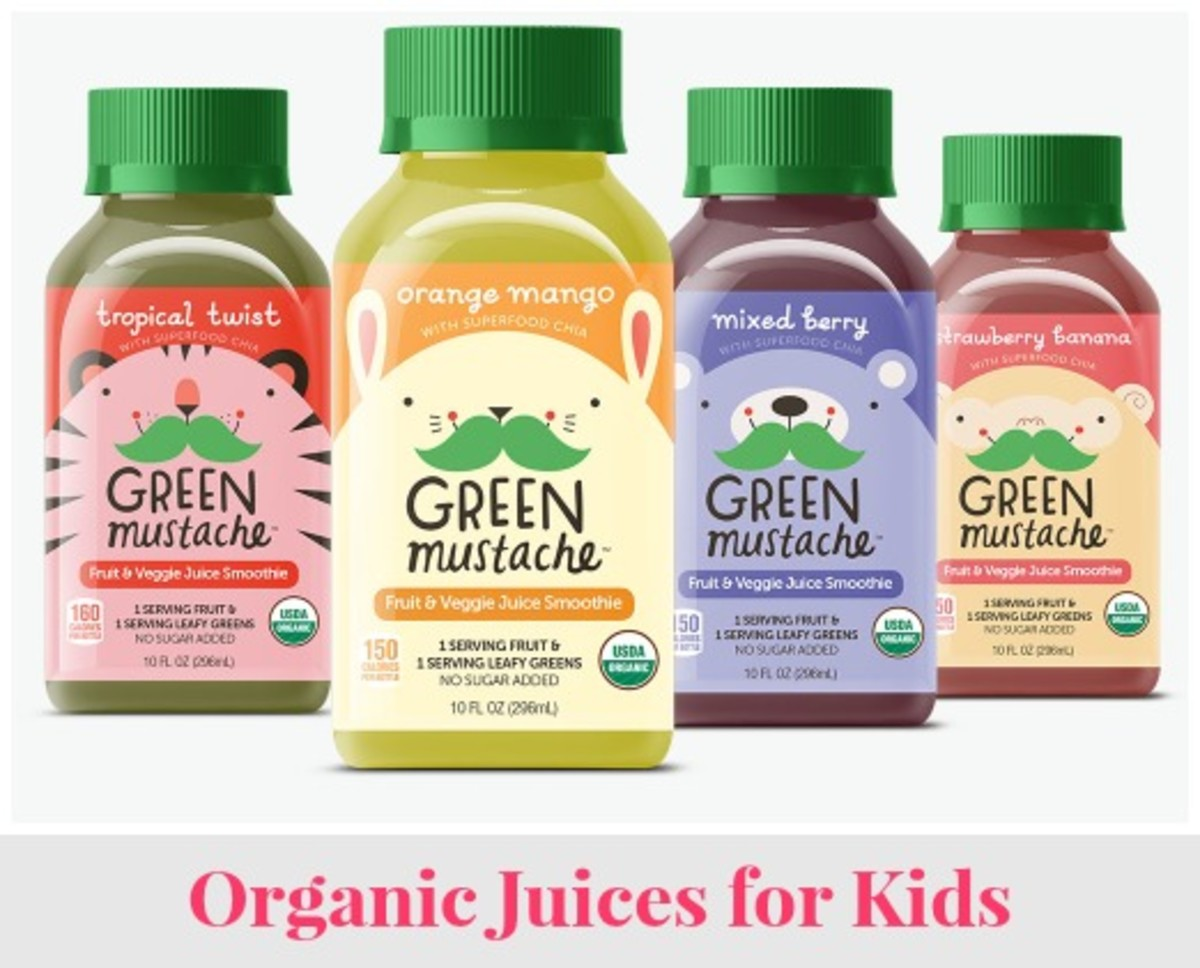 New Organic Juices for Kids