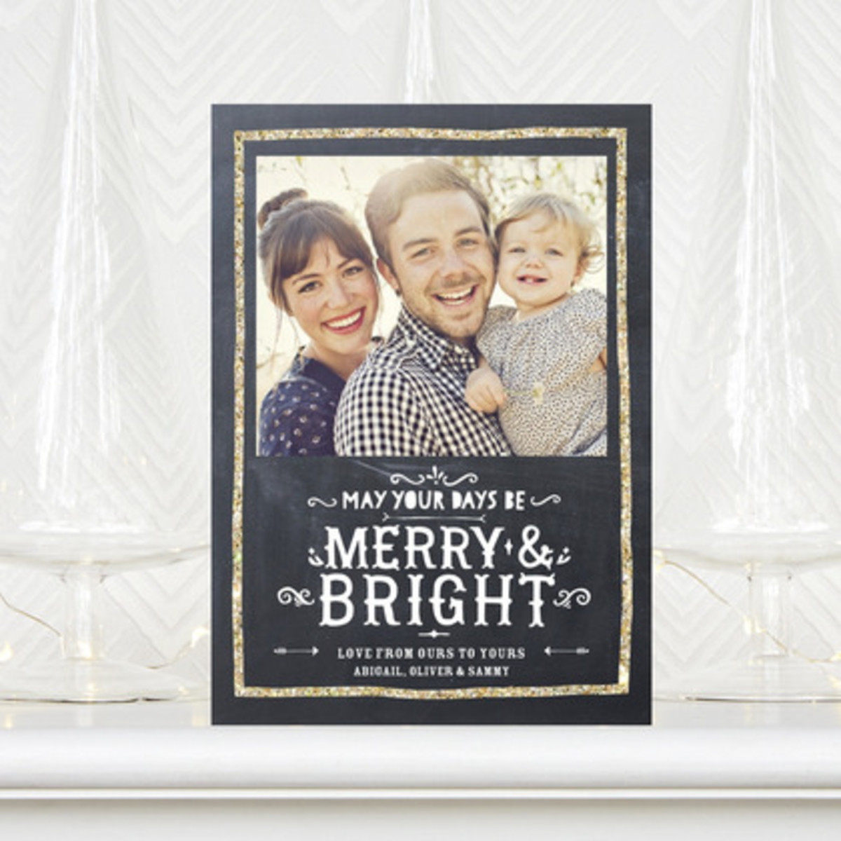 golden_greetings-flat_holiday_photo_cards-tallu-lah-gunmetal-gray