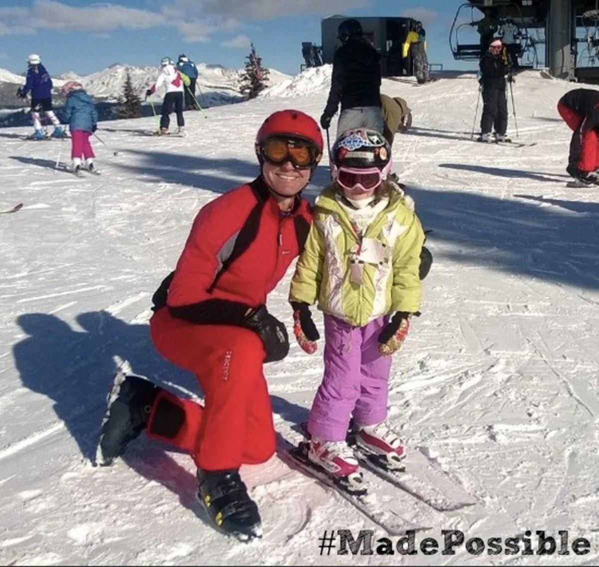 #madepossible ski