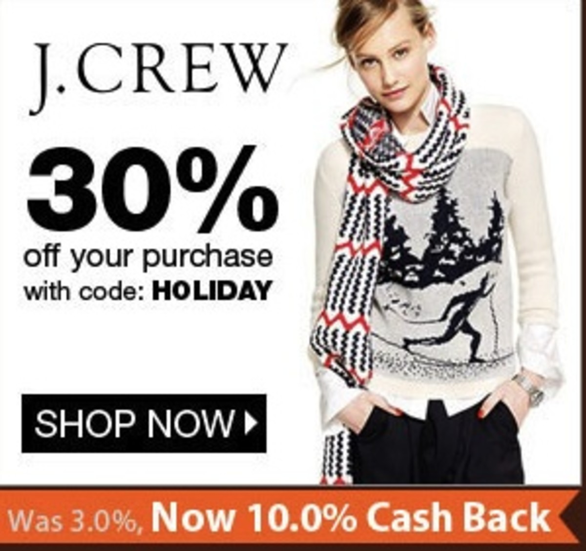 jcrew ebates deal