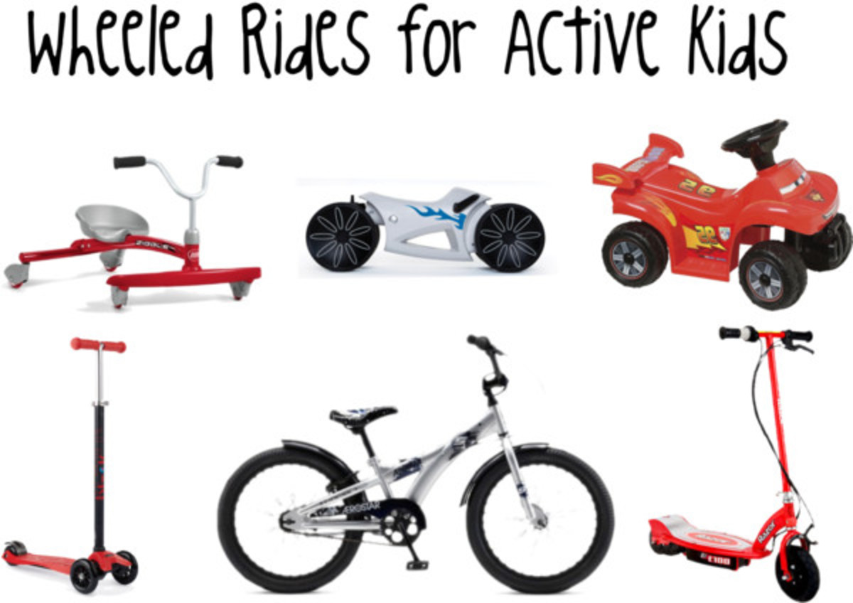 Wheeled Rides for Active Kids