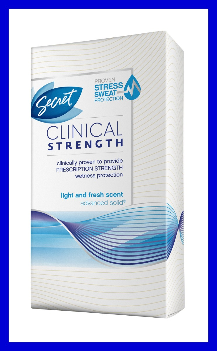 Secet Clinical Strength Light & Fresh stress sweat protection