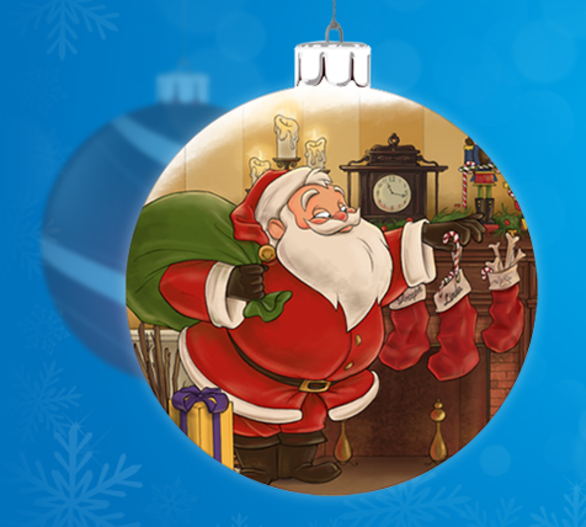 ustyme with Santa