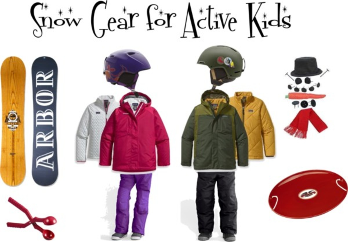 Snow Gear for Active Kids