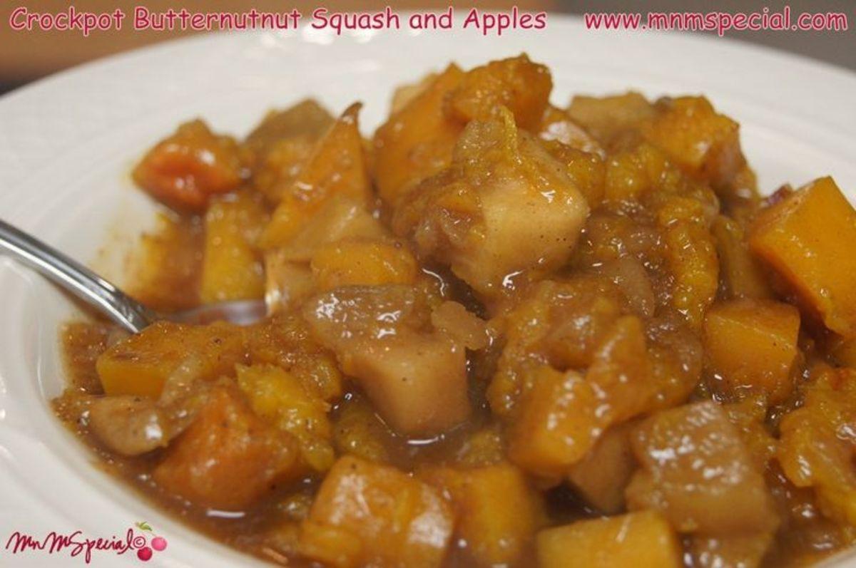 Butternut Squash and Apple Crockpot Recipe