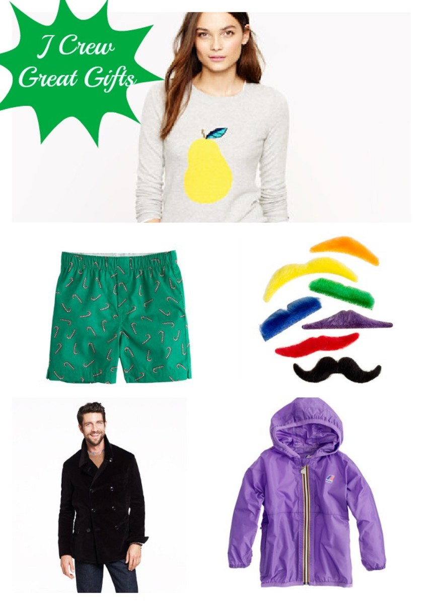 J Crew Great Gifts