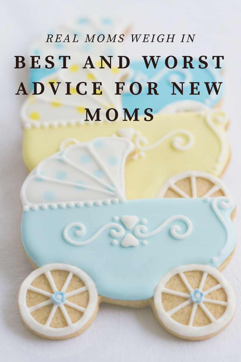 Best and Worst Advice for New Moms: Team Momtrends has heard some interesting advice with our babies, here is the best and worst.