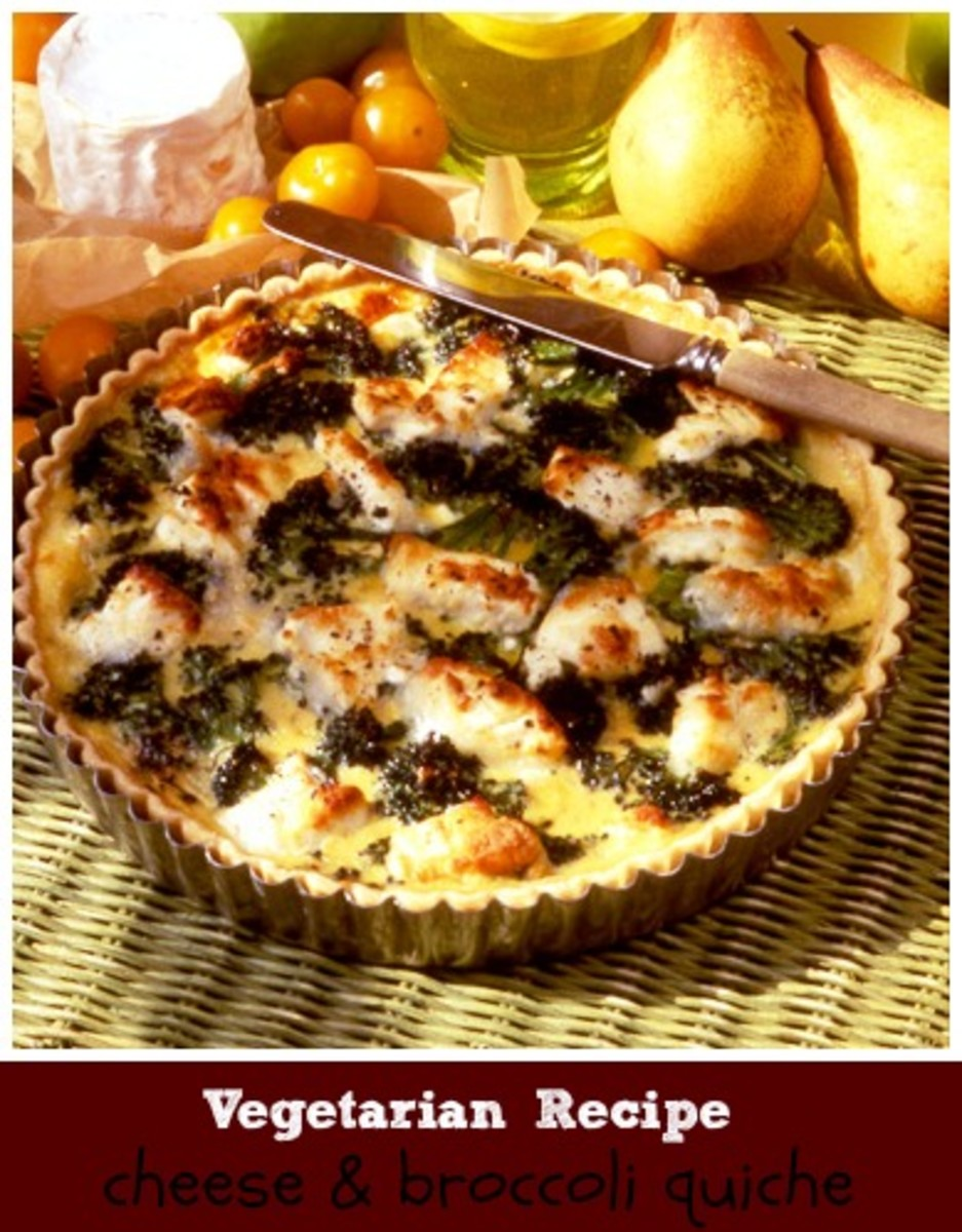 cheese broccoli quiche recipe