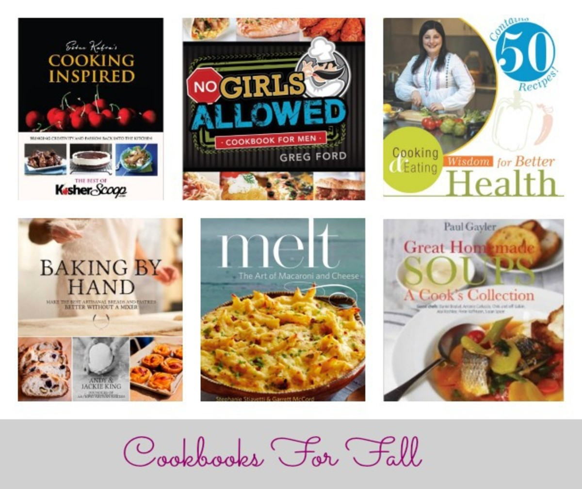 CookBooks for Fall
