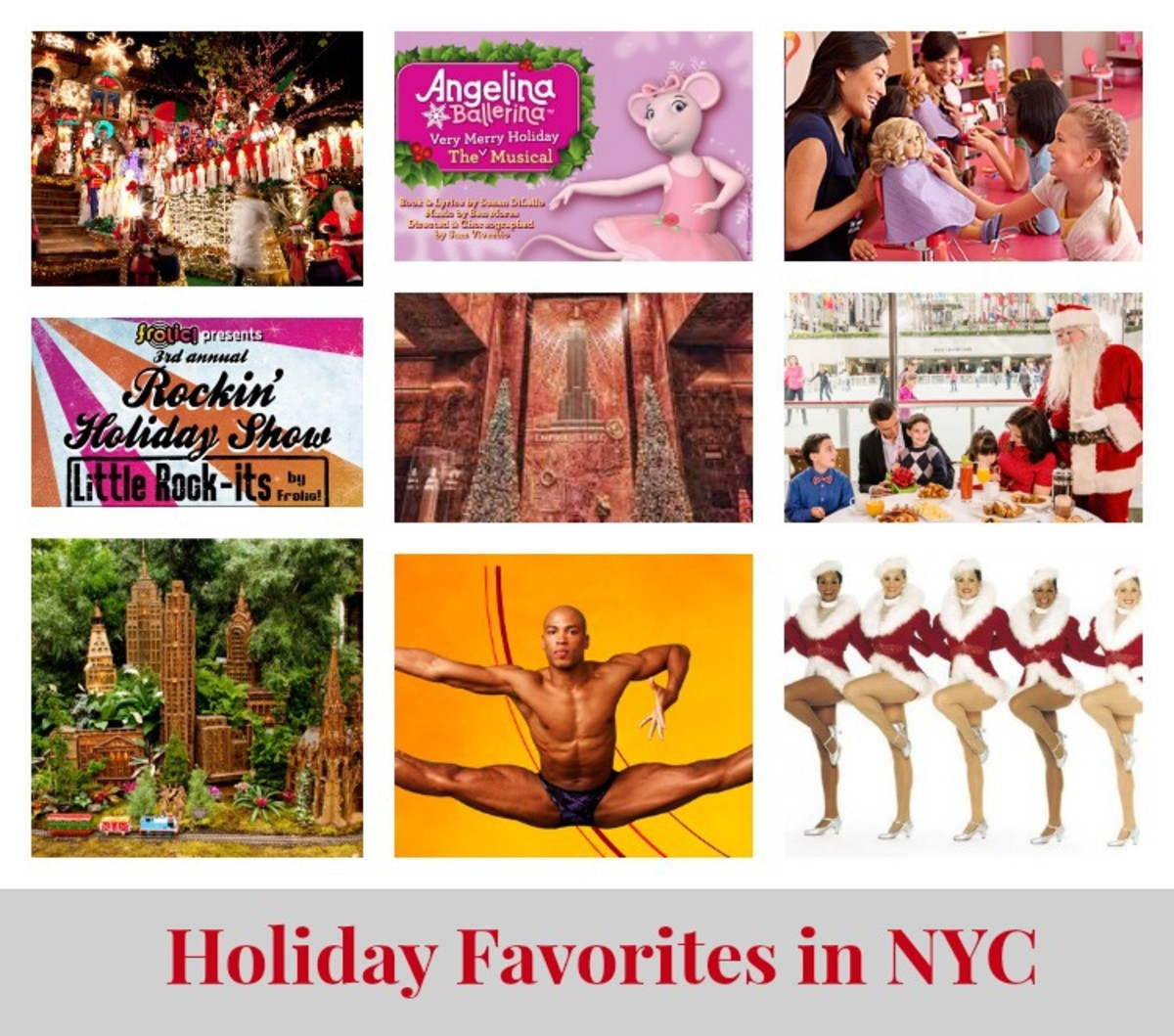 Holiday Favorites in NYC