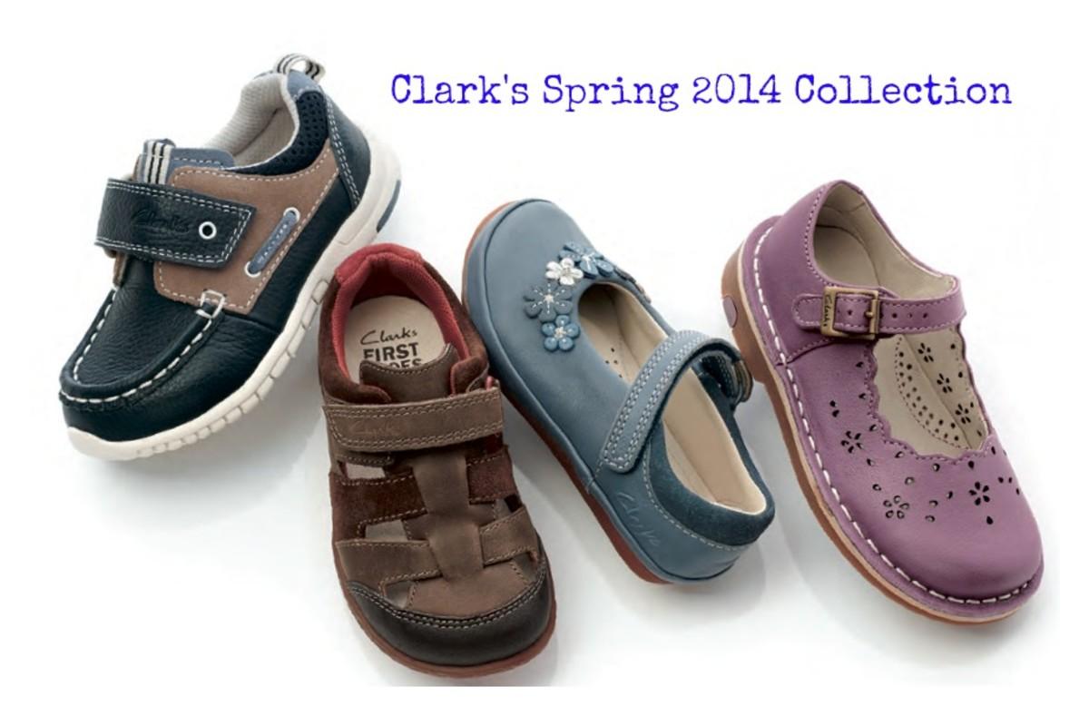 clarks, kids fashion