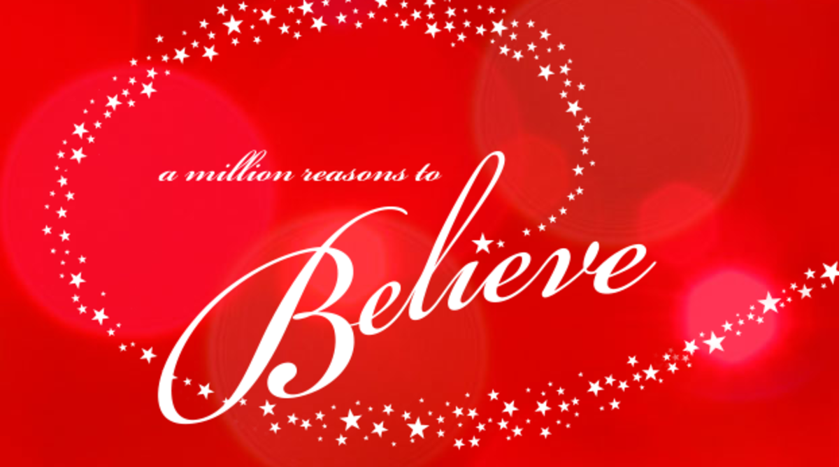Macy's Believe campaign