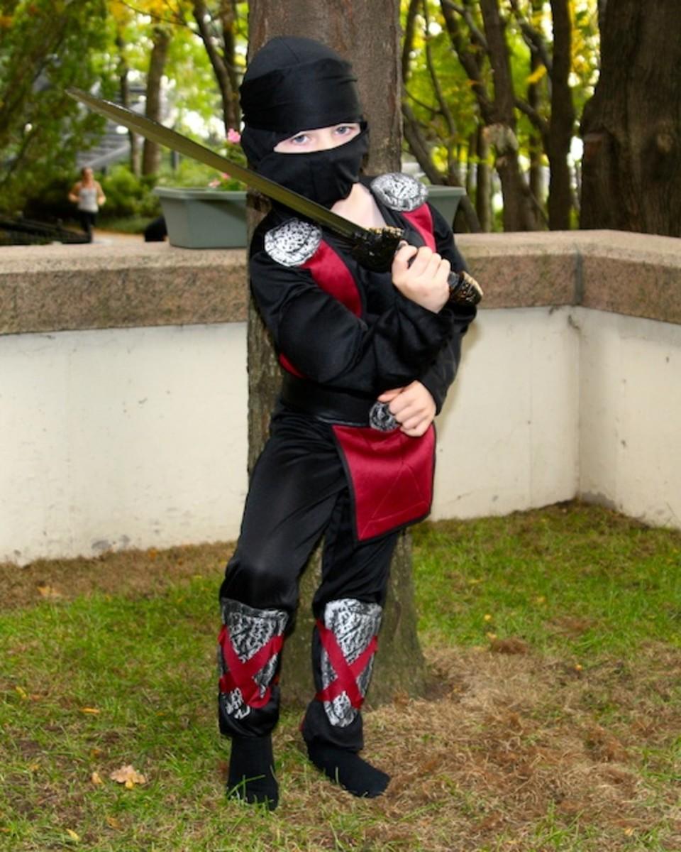 ninja costume, target halloween, halloween costume,