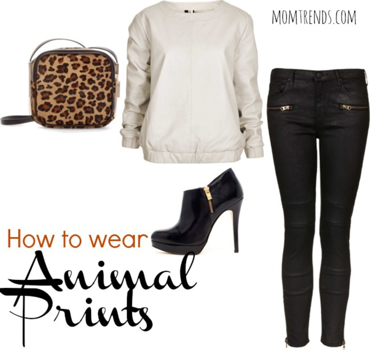 how to wear animal prints, fall fashion trends, fashion for moms, hip moms