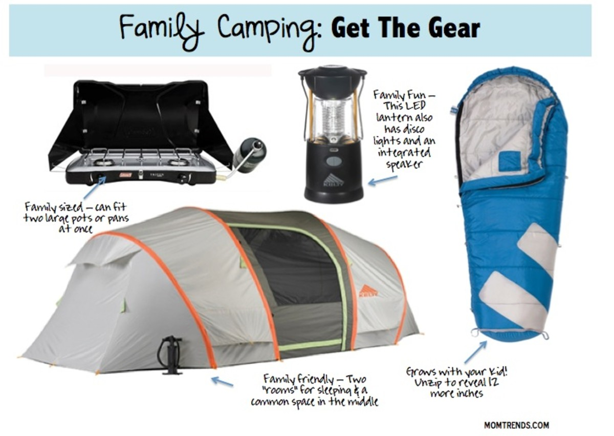 Family Camping: Get the Gear