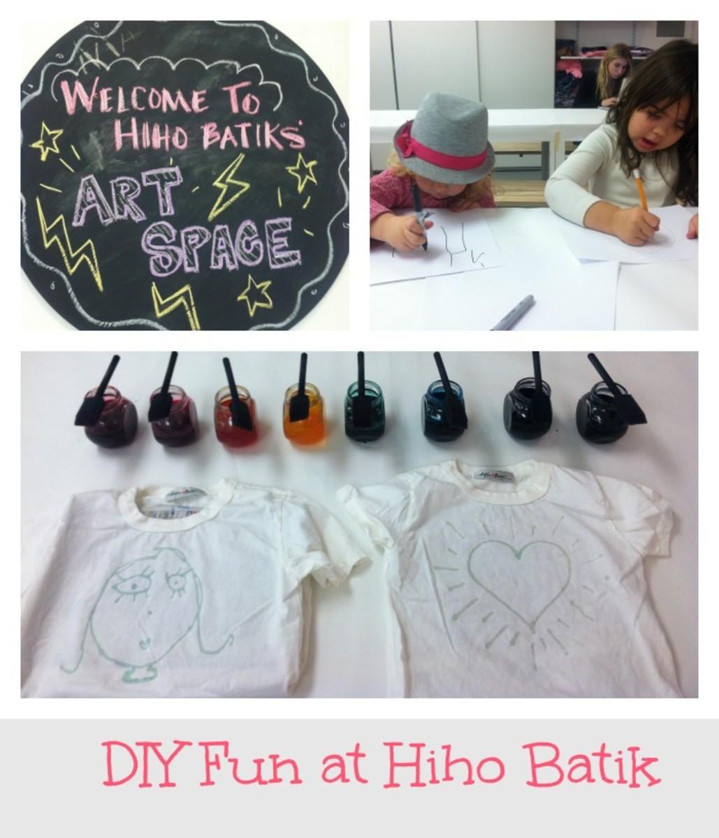diy t shirt designs at hiho batik momtrends. Black Bedroom Furniture Sets. Home Design Ideas