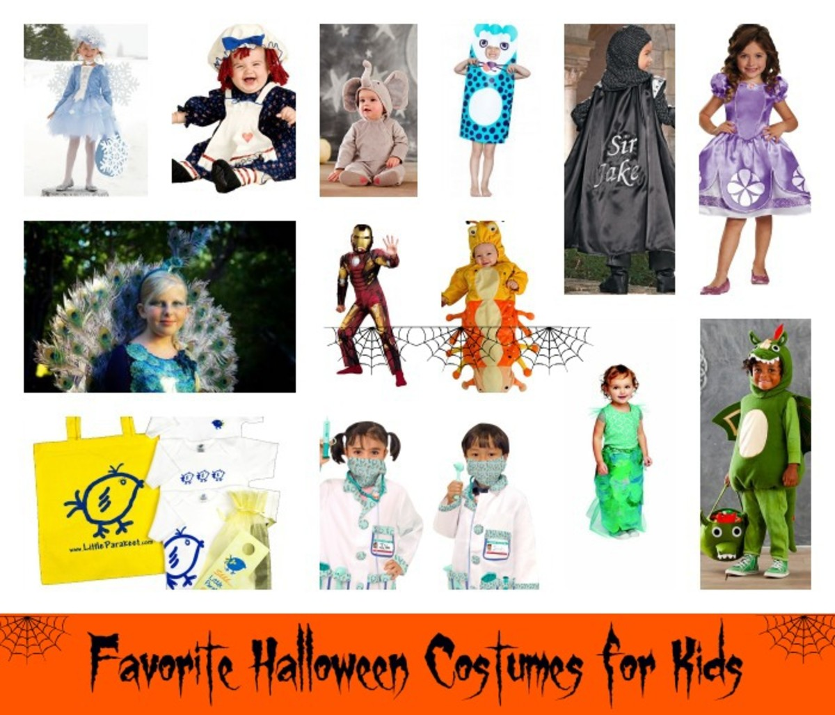 favorite halloween costumes and trick-or-treat bags - momtrends