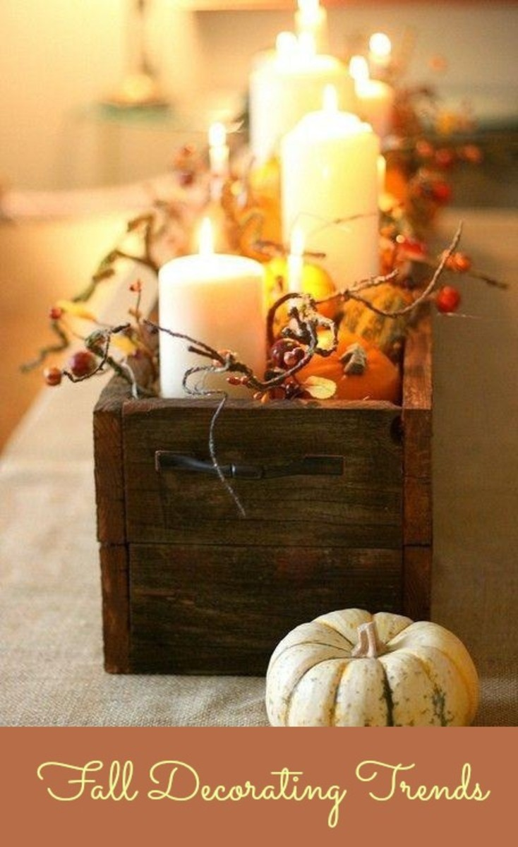 Fall Decorating Trends - MomTrendsMomTrends