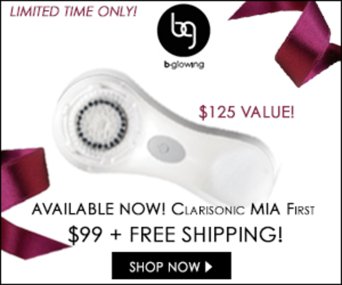 Best Cyber Monday Deals and Coupons for Clarisonic Sonic Cleansing Brushes! We LOVE our Clarisonic brushes! Clarisonic makes a fantastic holiday gift, plus you can take advantage of the great deals and pick one up for yourself! A Clarisonic brush removes 6X more makeup than manual cleansing.