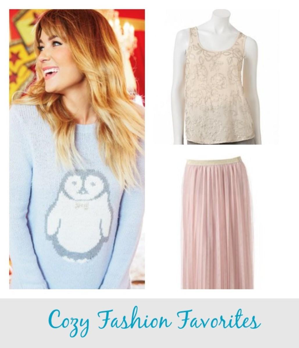 cozy fashion favorites, Lauren Conrad, Kohl's