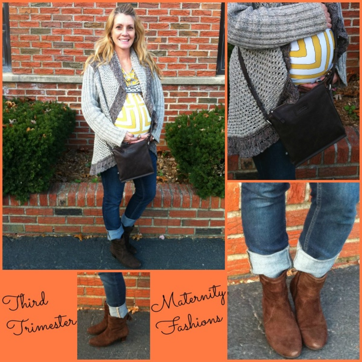 fall maternity fashions, thrid trimester, umberto raffini booties, oilan, elm baby, ECCO bari crossbody