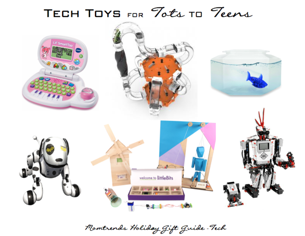 Tech toys for kids and teens