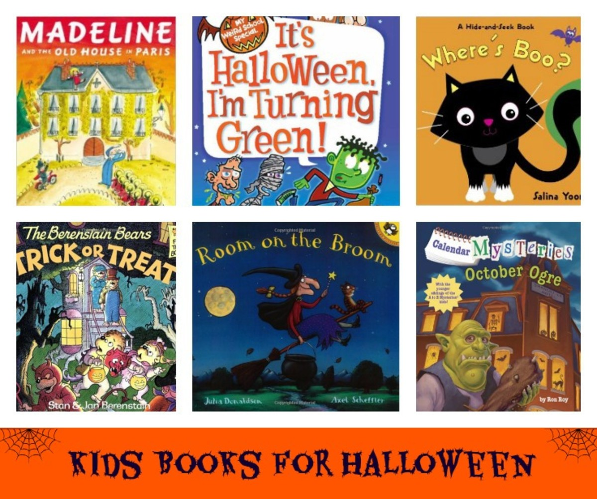 Halloween Books, Halloween Books for kids