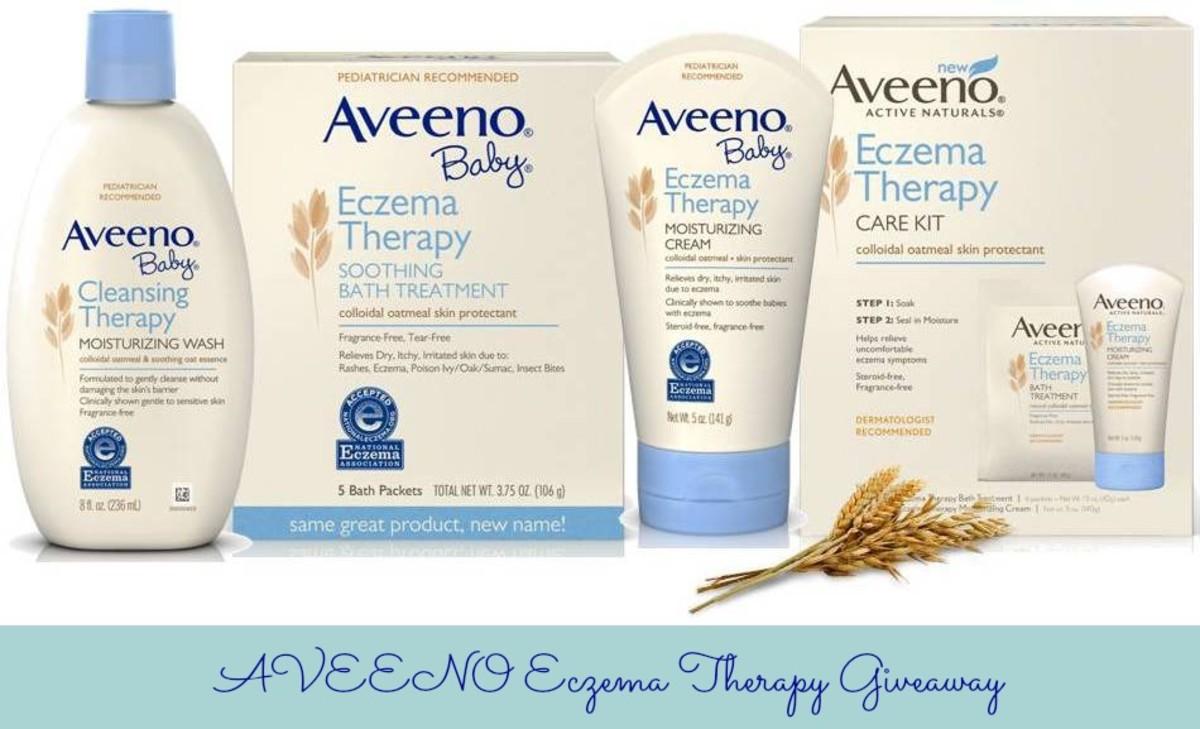 Aveeno Giveaway, Eczema