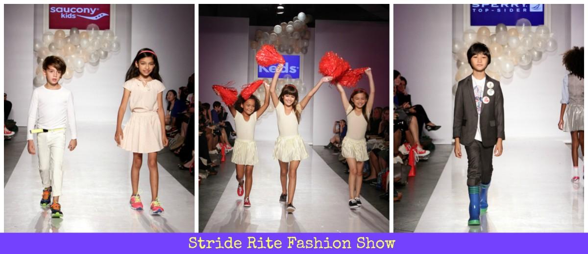 kids fashion, fashion show, stride rite