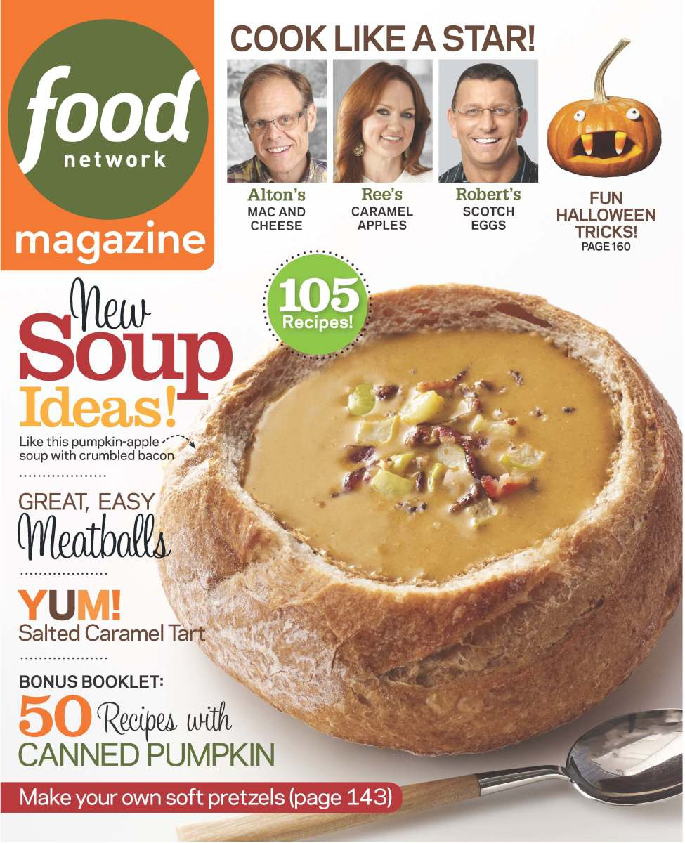 Food Network Mag Cover Oct '13