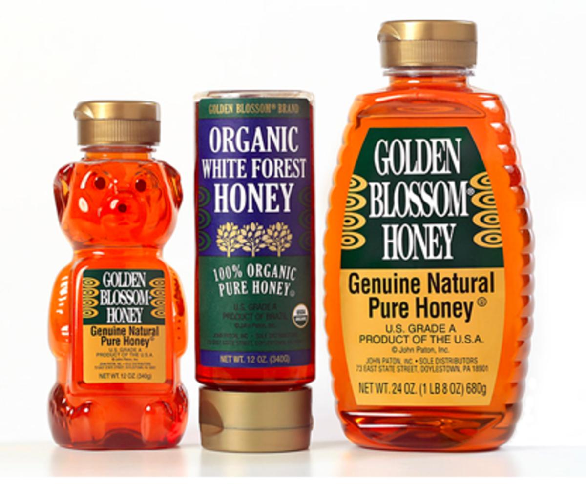 Golden Blossom Honey, tea, flu